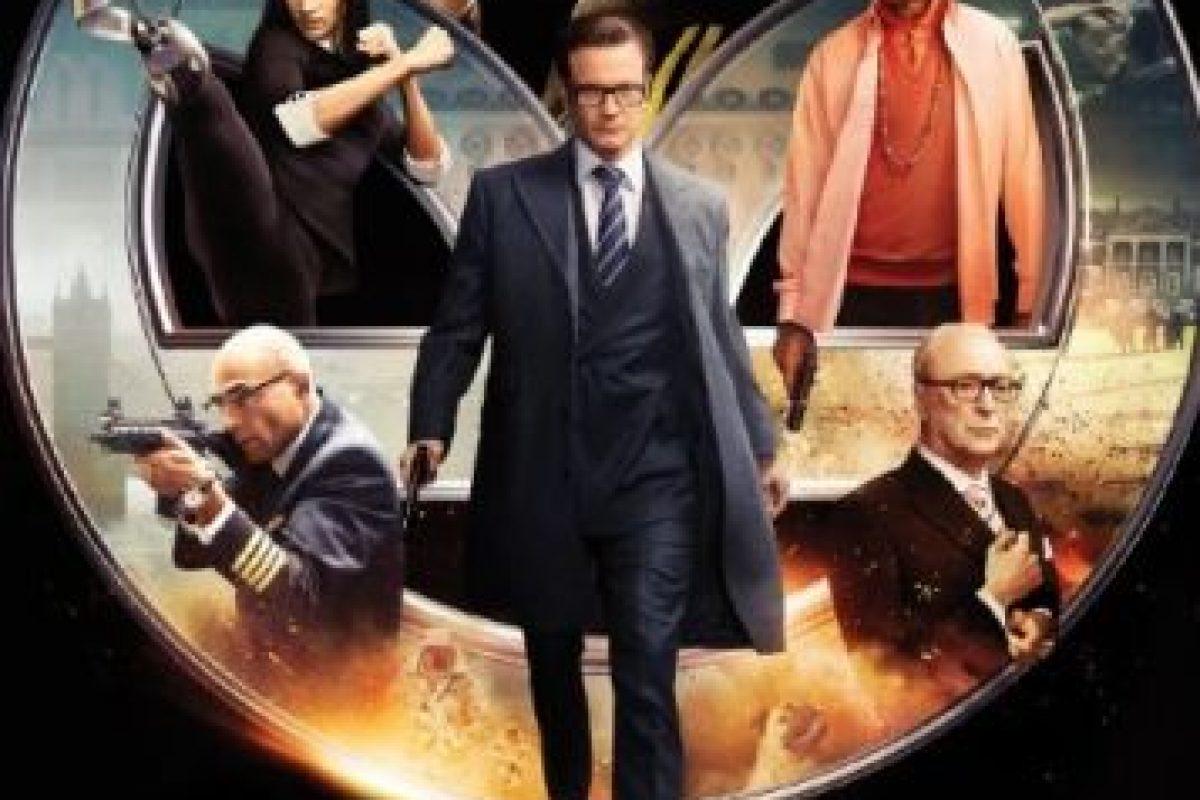 """""""Kingsman: The Secret Service"""" tiene ganancias de 414 millones de dólares en el mundo. Foto:IMDb. Imagen Por:"""