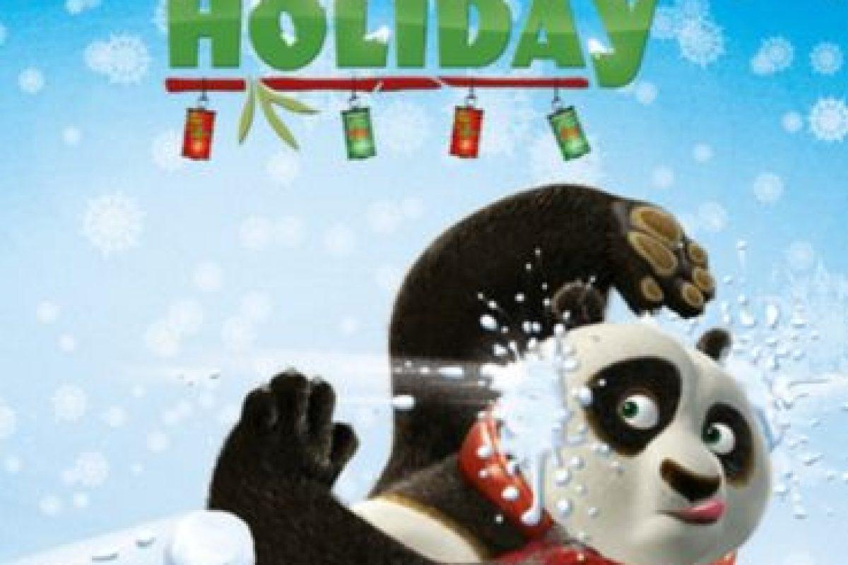 "6. ""Kung Fu Panda Holiday"". Foto:vía Netflix. Imagen Por:"