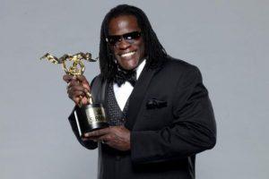 """El rapero ganó el """"Momento cómico del año"""", por pensar que estaba incluido en la lucha de """"Money in the Bank"""" Foto:WWE. Imagen Por:"""