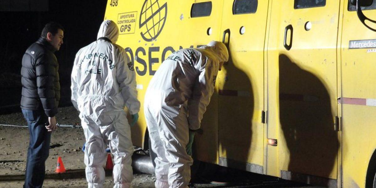 Formalizan a imputado por robo a camión Prosegur en San Antonio