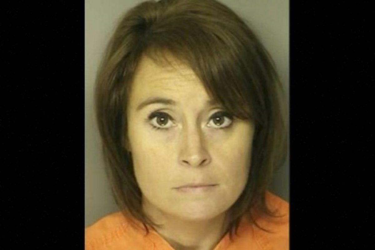 Ann Hope, profesora de Carolina del Sur, fue arrestada por tener relaciones con un exestudiante de secundaria Foto:Reuben Long Detention Center. Imagen Por: