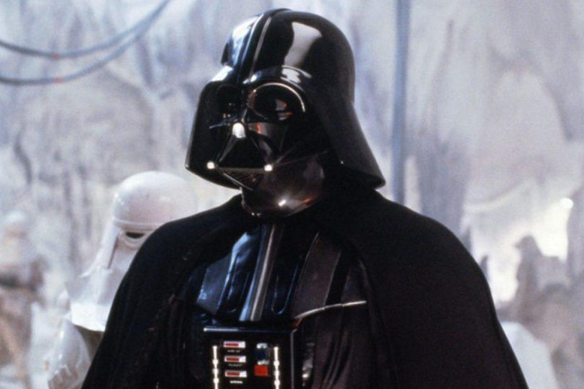 Darth Vader es el personaje antagonista principal de la saga cinematográfica Star Wars. Foto:Universal Studio. Imagen Por: