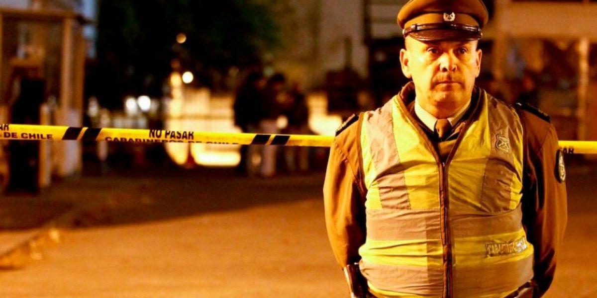 Providencia: persecución terminó en balacera y con un carabinero herido
