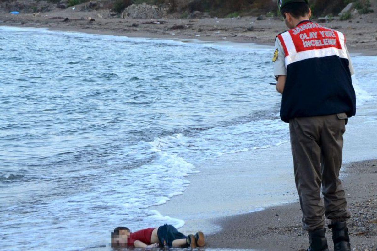 La muerte de Aylan Kurdi, el pequeño de tres años ocurrió en septiembre pasado. Foto:AP. Imagen Por:
