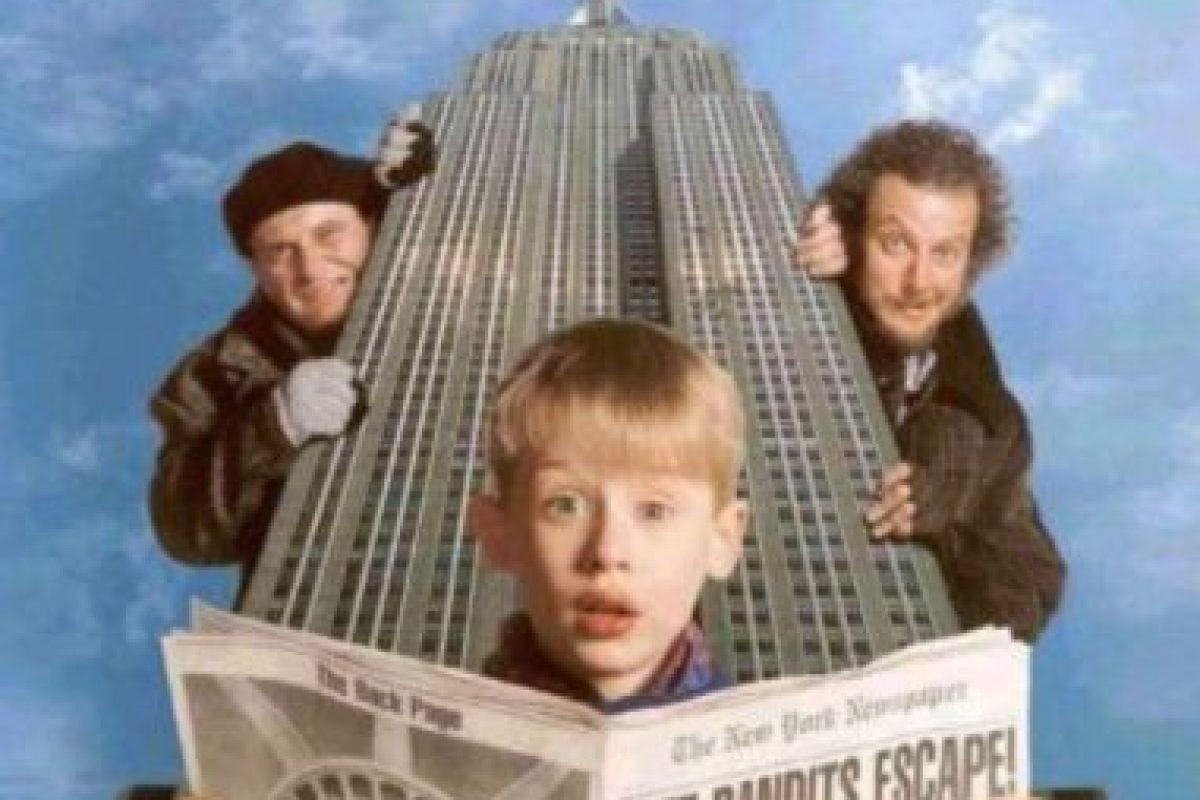 """9- """"Mi pobre angelito 2"""". Es una película de comedia, secuela de la película Home Alone dirigida por Chris Columbus. Foto:Hughes Entertainment. Imagen Por:"""