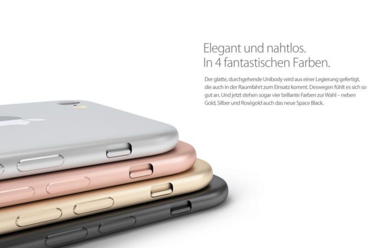De esta forma luciría el teléfono inteligente. Foto:vía handy-abovergleich.ch. Imagen Por: