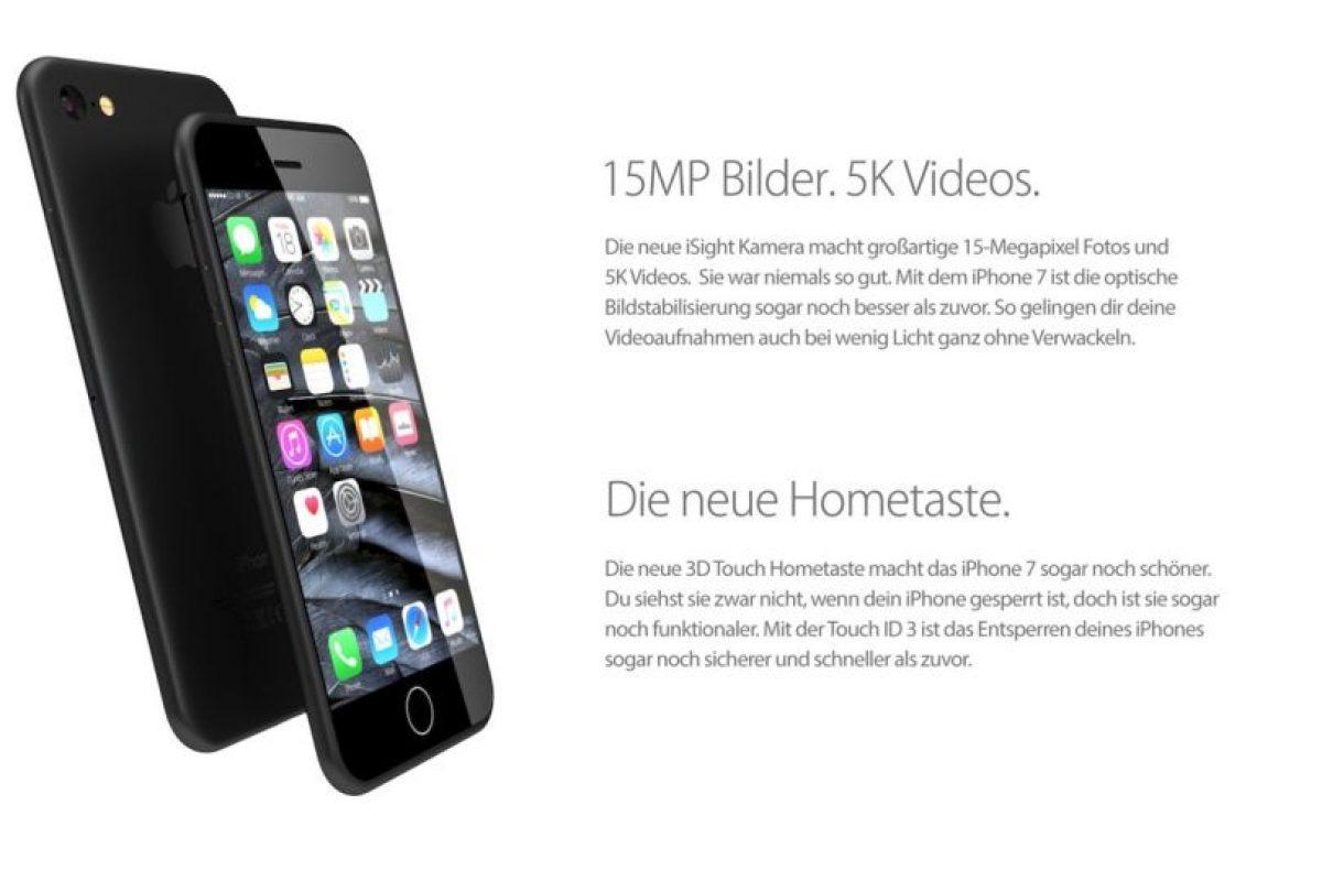La cámara posterior sería de 15 megapíxeles y grabaría videos en calidad 5K. Foto:vía handy-abovergleich.ch. Imagen Por:
