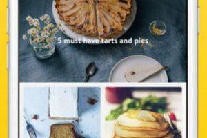 Encontrarán recetas con fotos, instrucciones paso a paso fáciles de seguir, videos tutoriales, entre otros detalles más. Foto:App Store. Imagen Por: