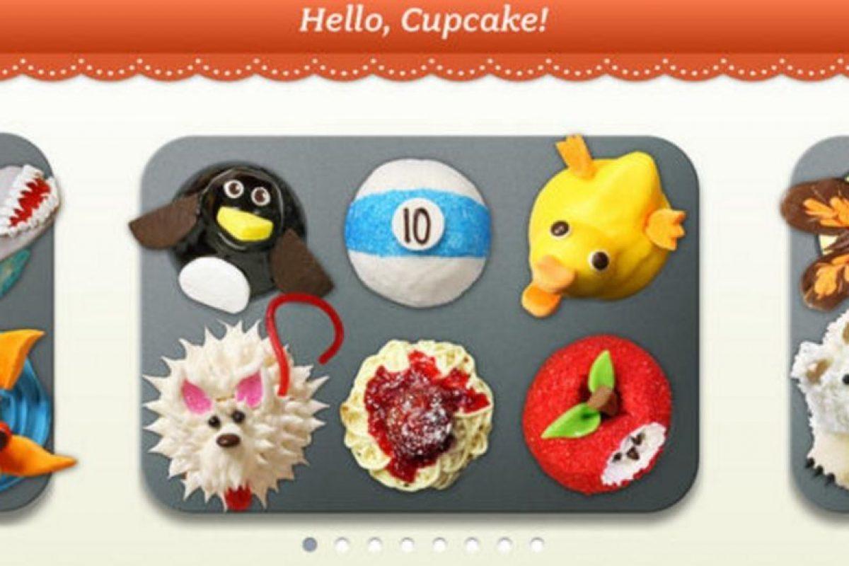 Videos instructivos paso a paso para realizar sus propios cupcakes con diversos diseños que a todos les encantarán. Además, una voz les dará los mejores consejos al momento de decorarlos. Foto:App Store. Imagen Por:
