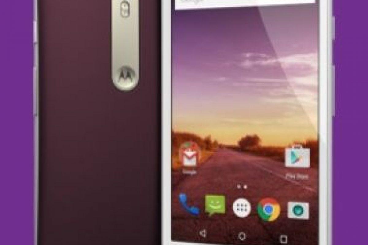 Pantalla de 5 pulgadas a 720 p con resolución HD (1280 * 720), 294 ppi. Foto:Motorola. Imagen Por: