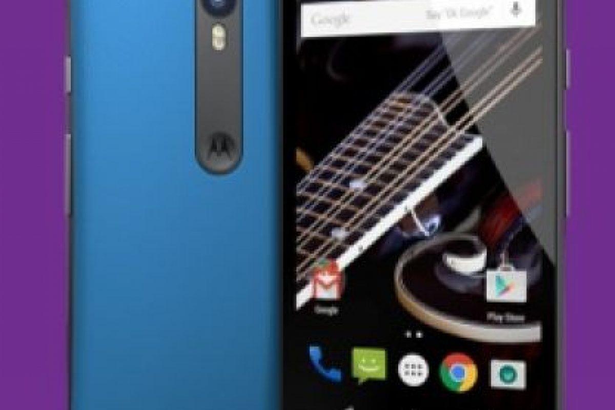 Procesador Qualcomm Snapdragon 410 de cuatro núcleos a 1.4 GHz. Foto:Motorola. Imagen Por: