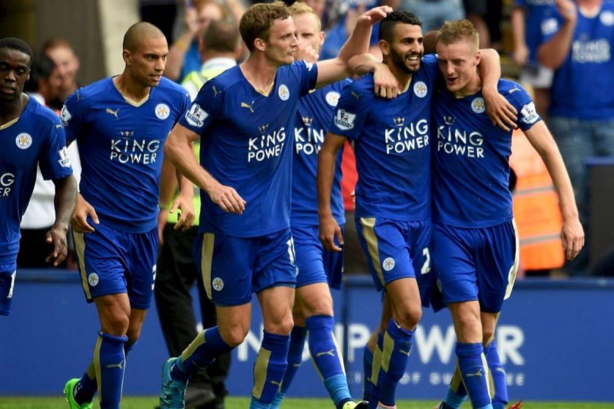 Es una de las figuras del Leicester, actual líder de la Premier League Foto:Getty Images. Imagen Por: