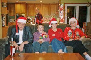 Ellos también odian su vida. Foto:Awkward Family Photos. Imagen Por: