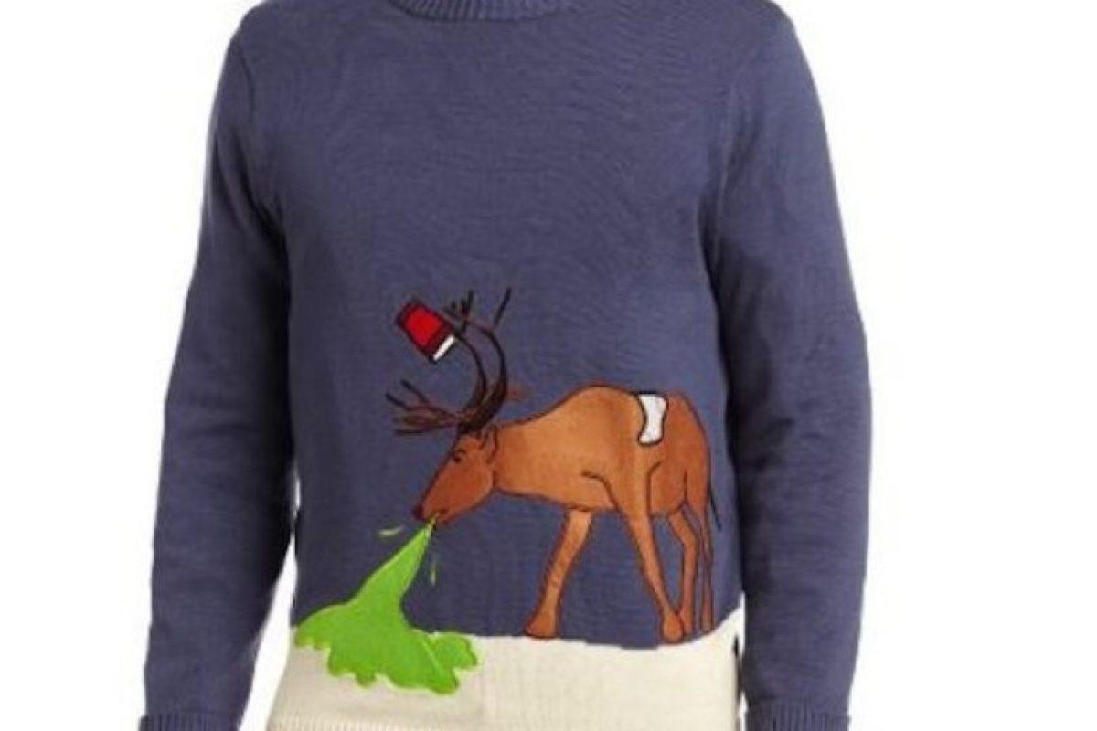 El reno sabe vivir las fiestas Foto:Etsy. Imagen Por: