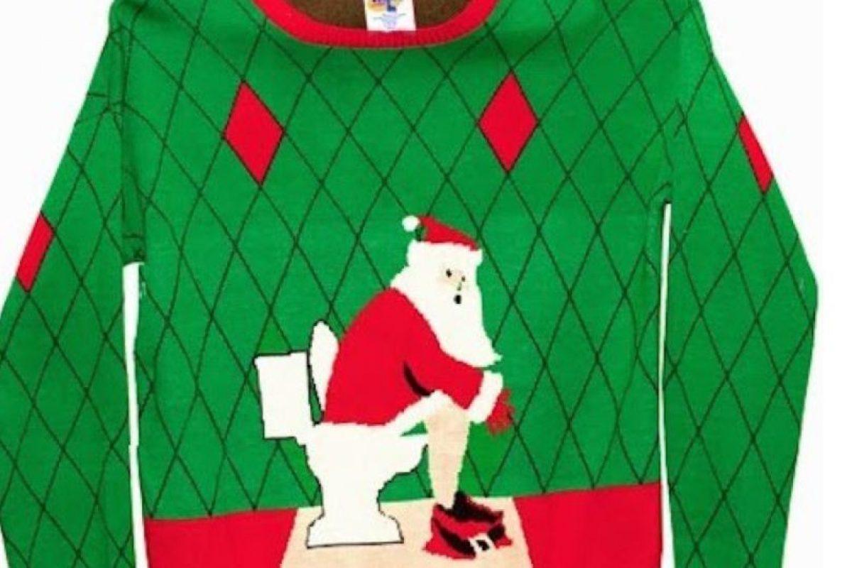 Santa es tan humano como nosotros. Foto:Imgur. Imagen Por: