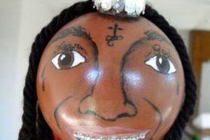 Lil Wayne tiene su propia bola de Navidad. Griten. Foto:Imgur. Imagen Por: