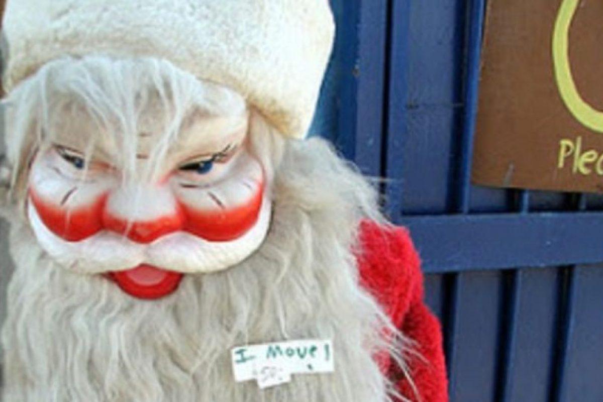 Santa en teatro Kabuki. Not bad. Foto:Imgur. Imagen Por: