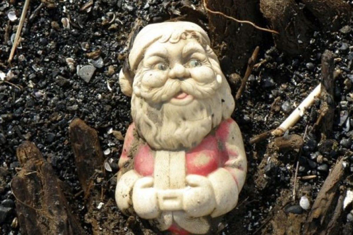 "Santa en ""Paranormal State"". Not bad. Foto:Imgur. Imagen Por:"
