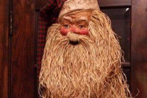 Santa necesita un baño. Foto:Imgur. Imagen Por: