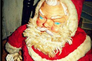 Santa salió del infierno para vengarse. Foto:Imgur. Imagen Por: