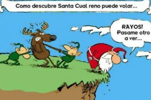 ¡Santa malo! Foto:Tumblr.com/Tagged-Navidad-memes. Imagen Por: