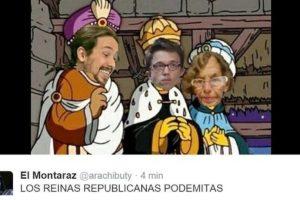 """Por esa razón la noticia de que habría una """"Reina Maga"""" levantó la polémica Foto:Vía Twitter. Imagen Por:"""