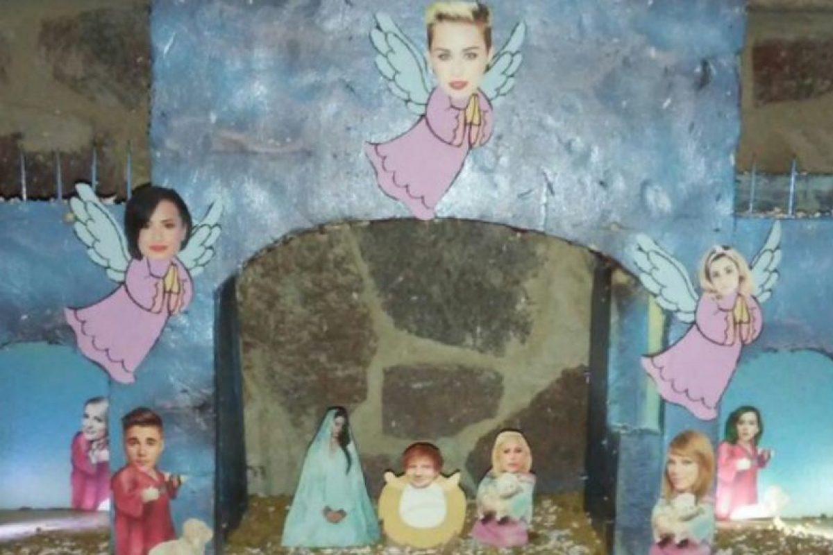 En algunos casos usaron personalidades conocidas como Miley Cyrus, para reir de la propuesta. Foto:Vía Twitter. Imagen Por: