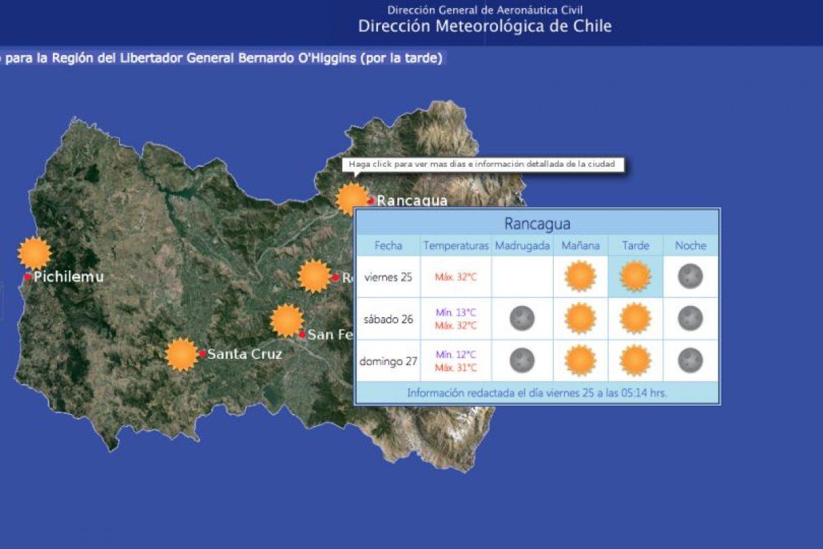 Foto:Meteorologia.cl. Imagen Por: