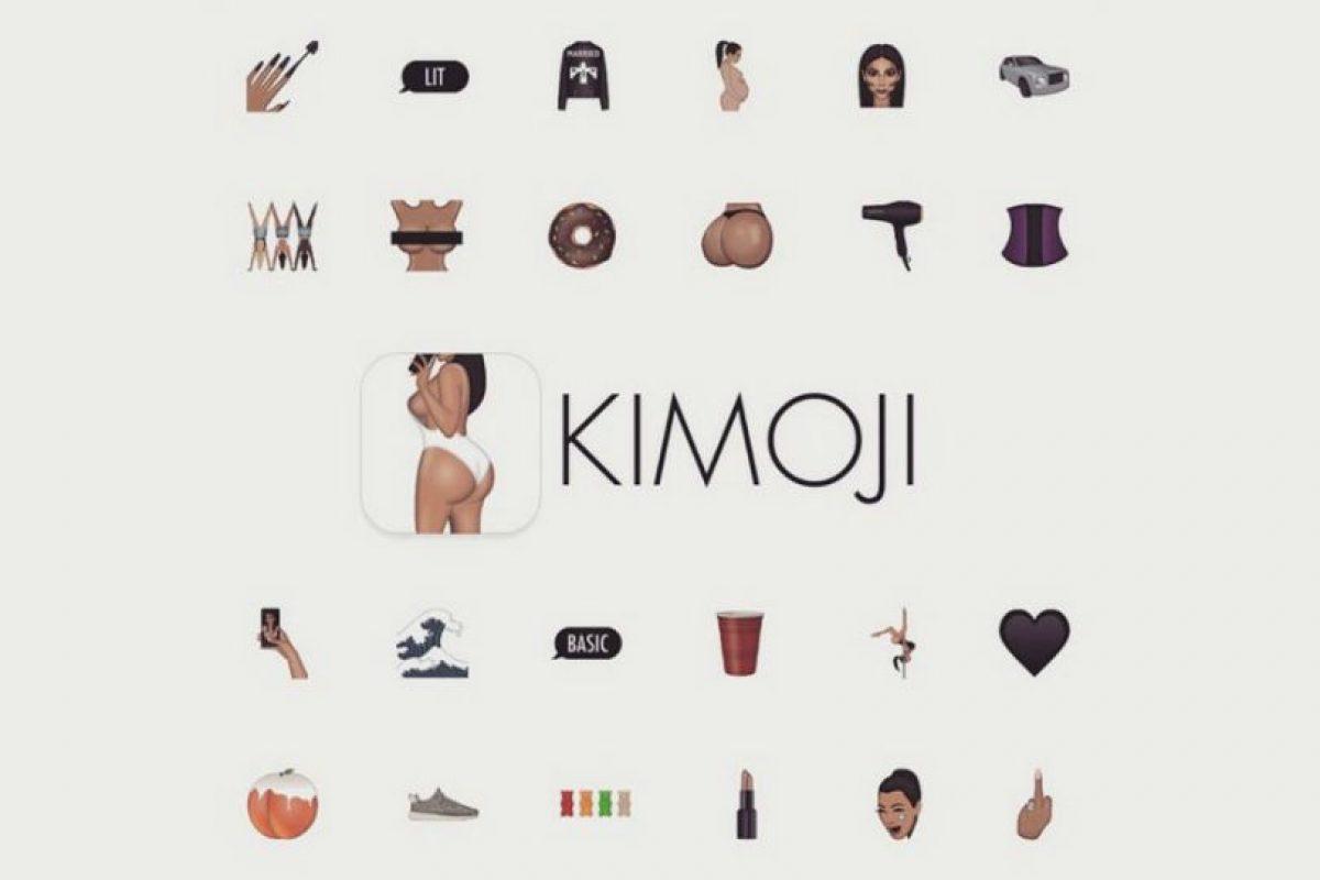 """""""Kimoji"""" está disponible en la App Store por 1.99 dólares. Foto:App Store. Imagen Por:"""