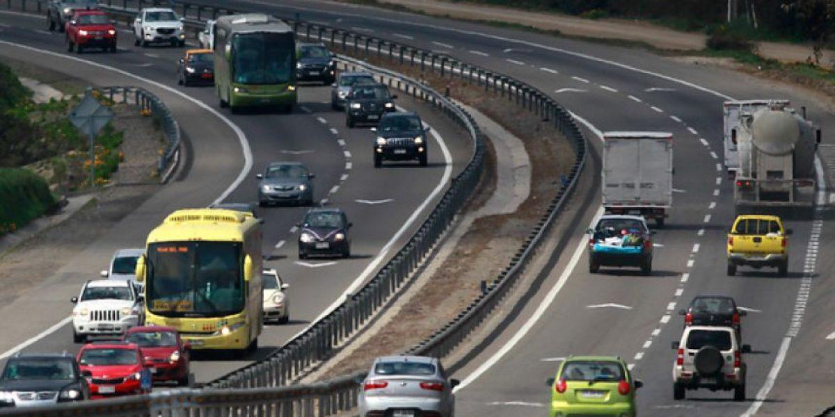 Se espera que más de 80.000 vehículos retornen esta tarde a Santiago