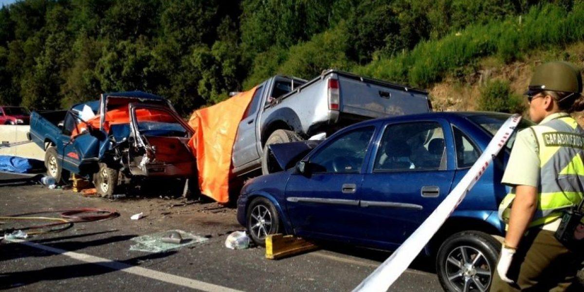 Último fin de semana largo del año deja 12 fallecidos en accidentes carreteros