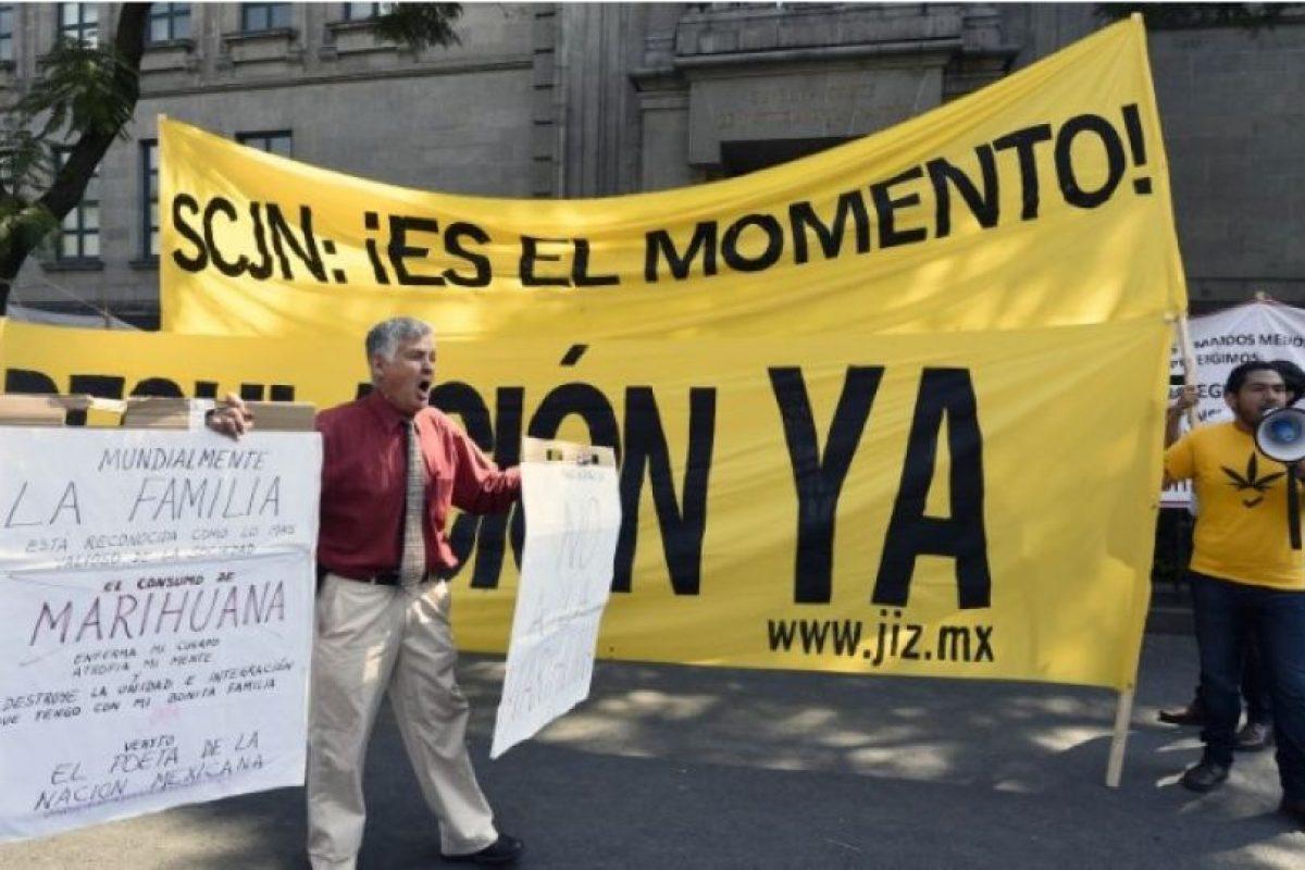 7. México: La posesión está despenalizada Foto:Getty Images. Imagen Por: