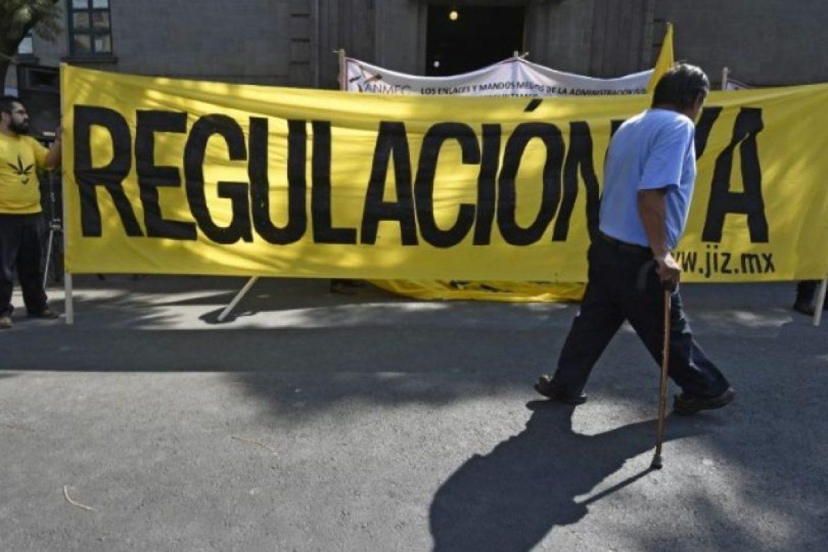 La ley causó polémica en el país, ya que el entonces presidente Felipe Calderón había declarado una guerra frontal en contra de las drogas Foto:Getty Images. Imagen Por: