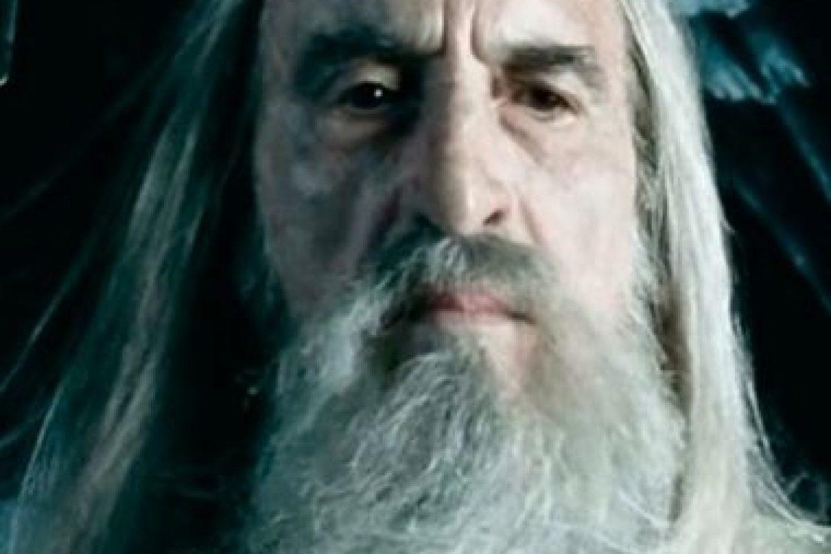 """El también intérprete de """"Saruman"""" en """"El Señor de los anillos"""" falleció a causa de problemas respiratorios. Foto:Warner Bros. Imagen Por:"""