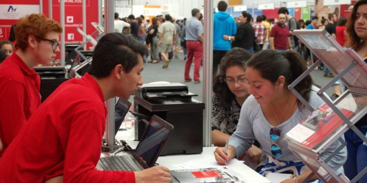 Más de 4.000 estudiantes visitaron Feria de Postulación Suractivo de Concepción