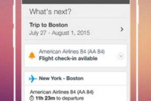 Organiza de manera automática sus viajes, les envía alertas de vuelo (hora de salida) y recomienda hoteles para reservar. Foto:WorldMate, Inc.. Imagen Por: