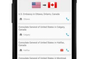 Les brinda una base de datos con los números de emergencia y la ubicación de las embajadas. La aplicación está disponible en todo el mundo. Foto:BoaLogik. Imagen Por: