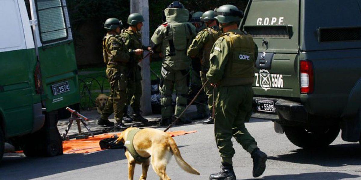 Quilicura: carabinero termina baleado tras operativo en la población Parinacota
