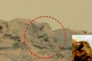 """Un supuesto """"Dios marciano"""" Foto:NASA. Imagen Por:"""