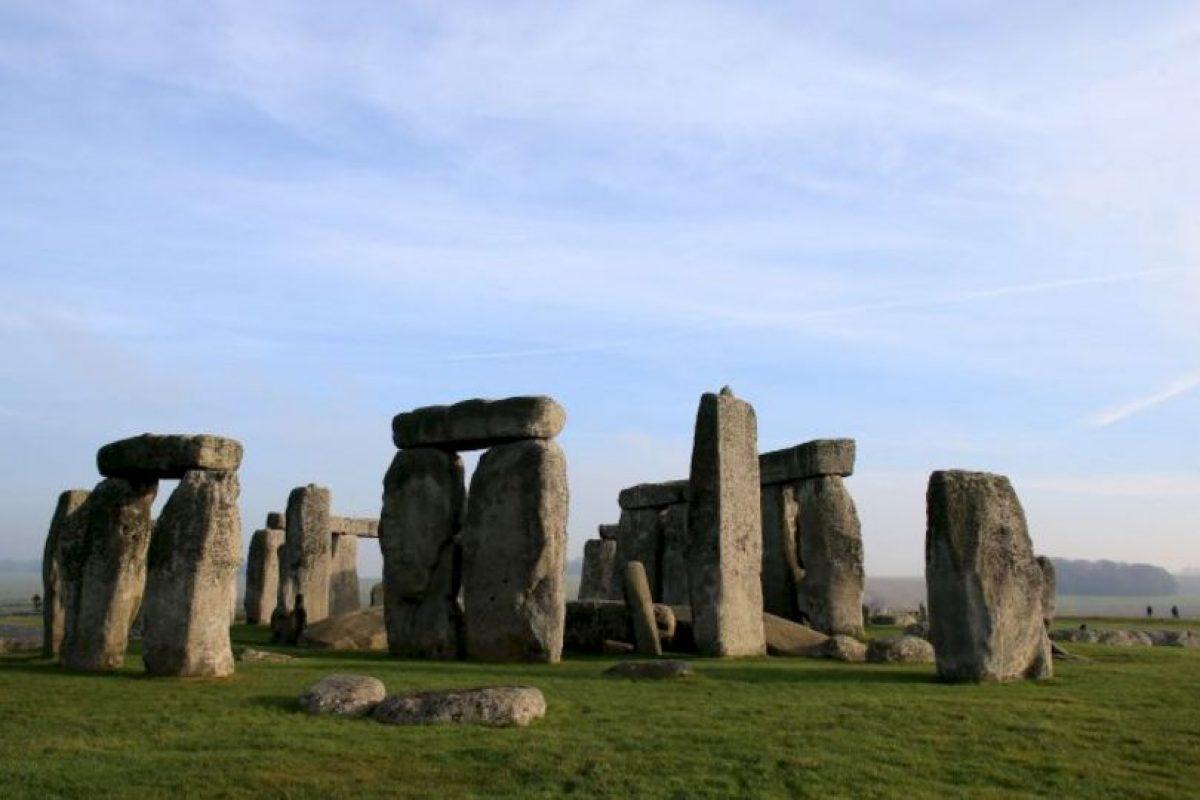 Stonehenge original, en la Tierra. Foto:Getty Images. Imagen Por:
