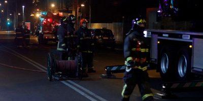 Incendio deja con daño estructural a motel santiaguino