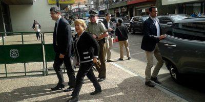 Gobierno y viaje de Bachelet: