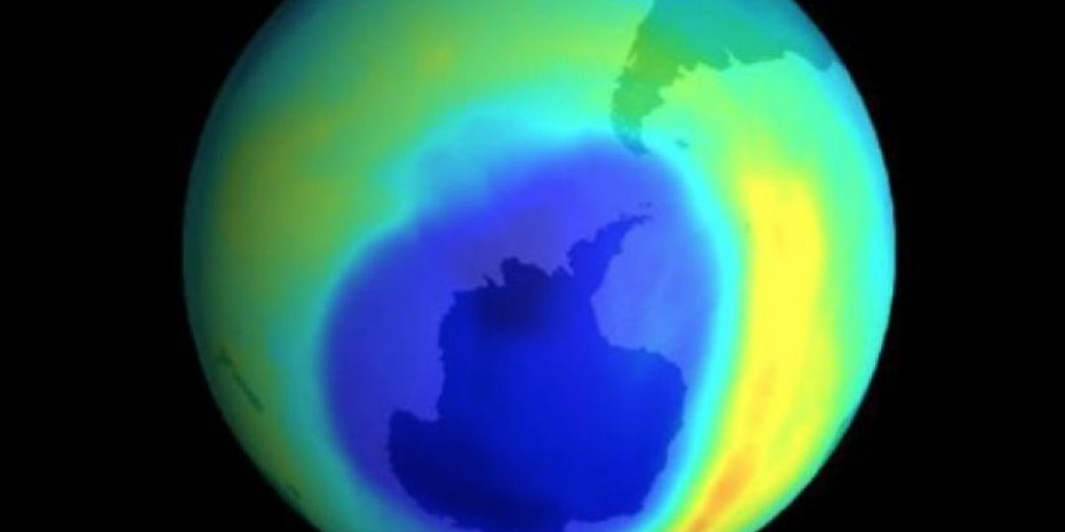 Agujero de la capa de ozono en la Antártica alcanza tamaño récord en diciembre