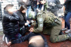 El día del accidente Foto:Archivo Agencia Uno. Imagen Por: