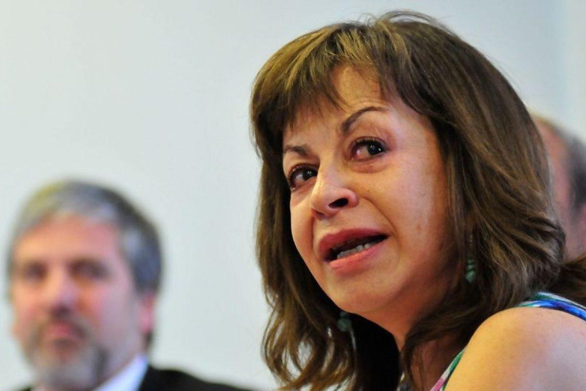 La directora del Demre, Leonor Varas Foto:Agencia Uno. Imagen Por: