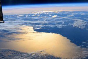 Así retrató el astronauta Terry W. Virts el sur de Argentina. Foto:Vía Twitter @AstroTerry. Imagen Por: