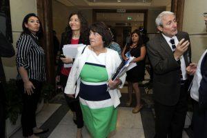 La ministra Adriana Delpiano se refirió anoche en una entrevista a la gratuidad y la última PSU. Foto:Agencia Uno. Imagen Por: