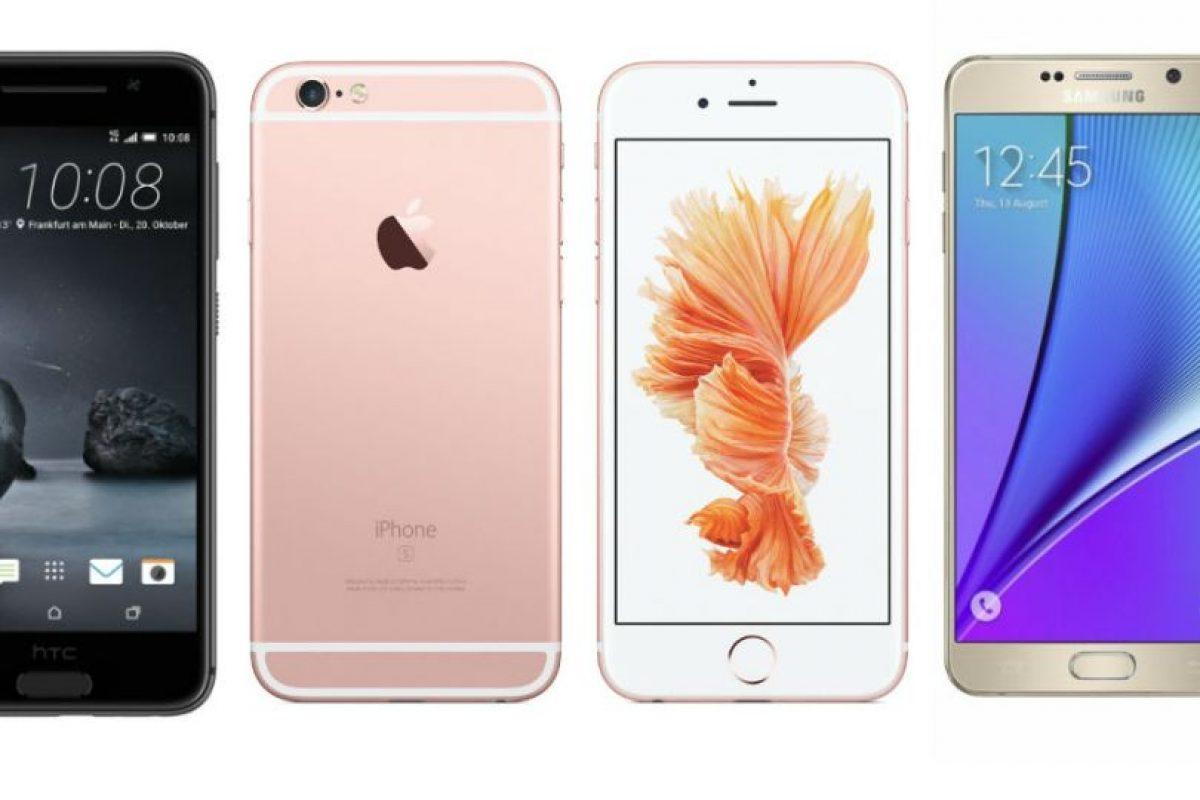 Estos son los smartphones más deseados. Foto:HTC/Apple/Samsung. Imagen Por: