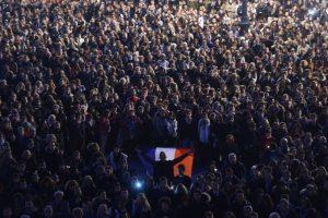 Todas en nombre de la libertad de expresión. Foto:AFP. Imagen Por:
