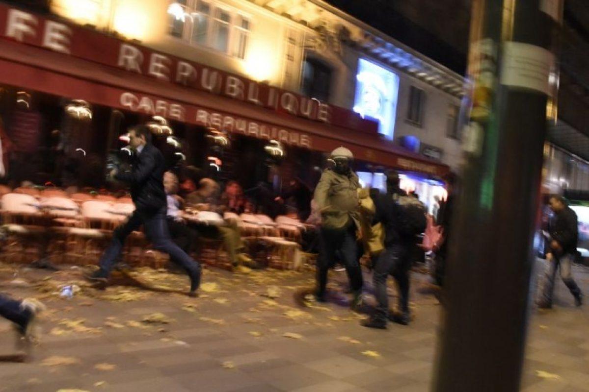 Donde una serie de ocho explosiones cambiaron la historia de París Foto:AFP. Imagen Por: